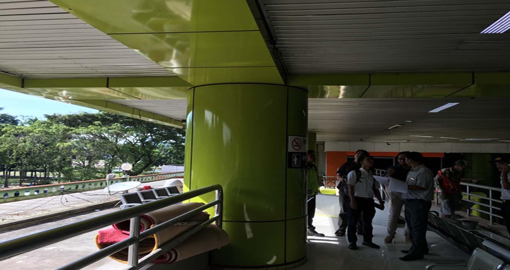Project Stasiun Gambir (PT. KAI) - PT. Eco Tekno Graha